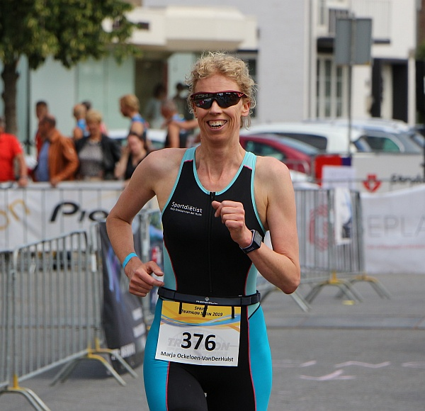 Marja Ockeloen sportdietist - traithlon
